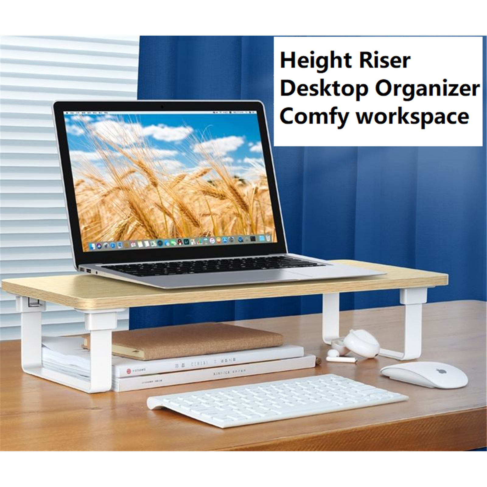 UGREEN LP224 Monitor Stand Riser - Size 547x220 x116mm - Weight Capacity 15kg
