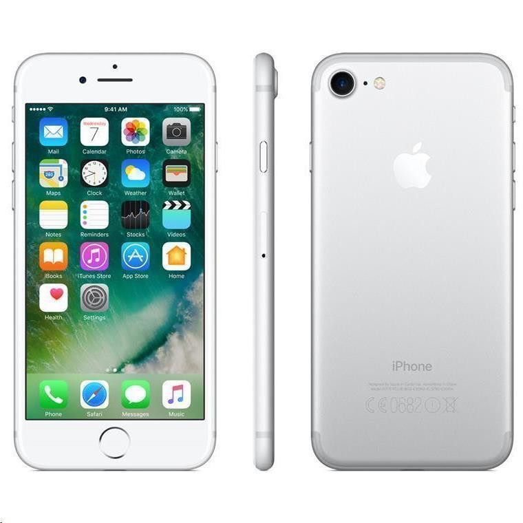 Buy the Apple iPhone 7 128GB Silver ( MN932X/A 2 ) online