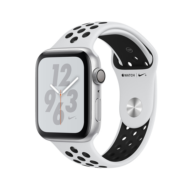 bc38d28221f Apple Watch Series 4 Nike+ GPS 40mm Silver Aluminium Case with Pure  Platinum/Black Nike Sport Band.