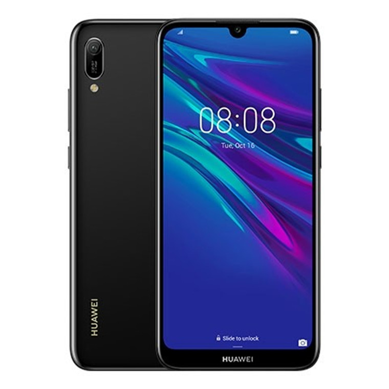 Buy the Huawei Y6 Pro 2019 Smartphone 32GB Black - 2 Years Warranty (  MRD-LX2 Black 2D ) online