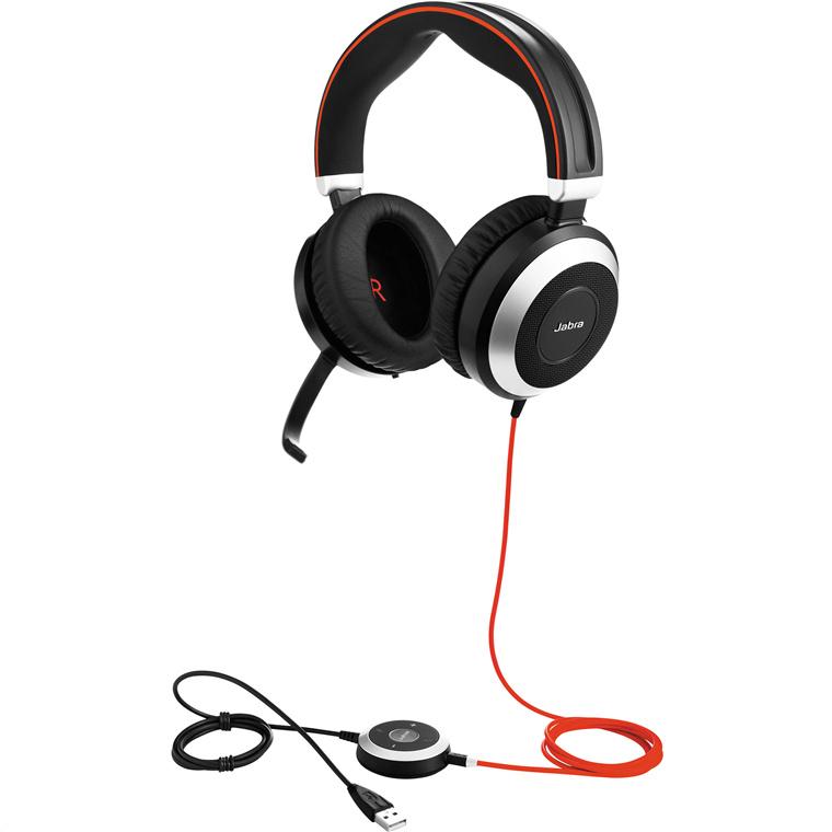 Buy the Jabra EVOLVE 80 Headset - Skype for Business