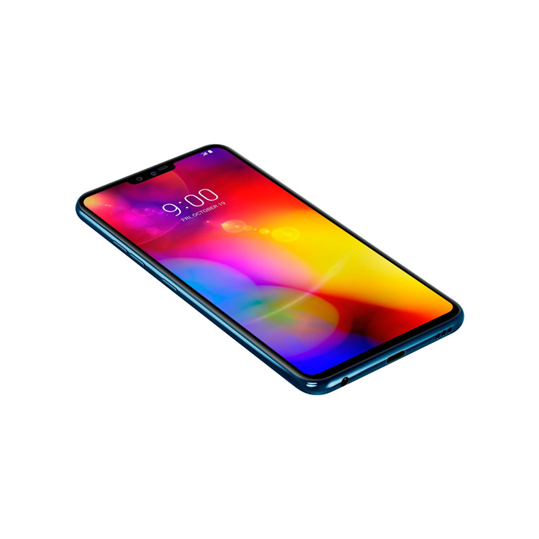 Buy the LG V40 ThinQ Dual SIM 6GB+128GB Smartphone - Matte Moroccan Blue -  2    ( LMV405EBW AAUSWU ) online