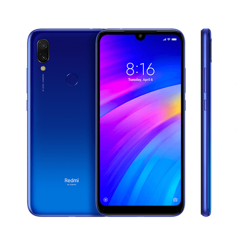 Buy the Xiaomi Redmi 7 Dual SIM Smartphone 32GB Comet Blue 2