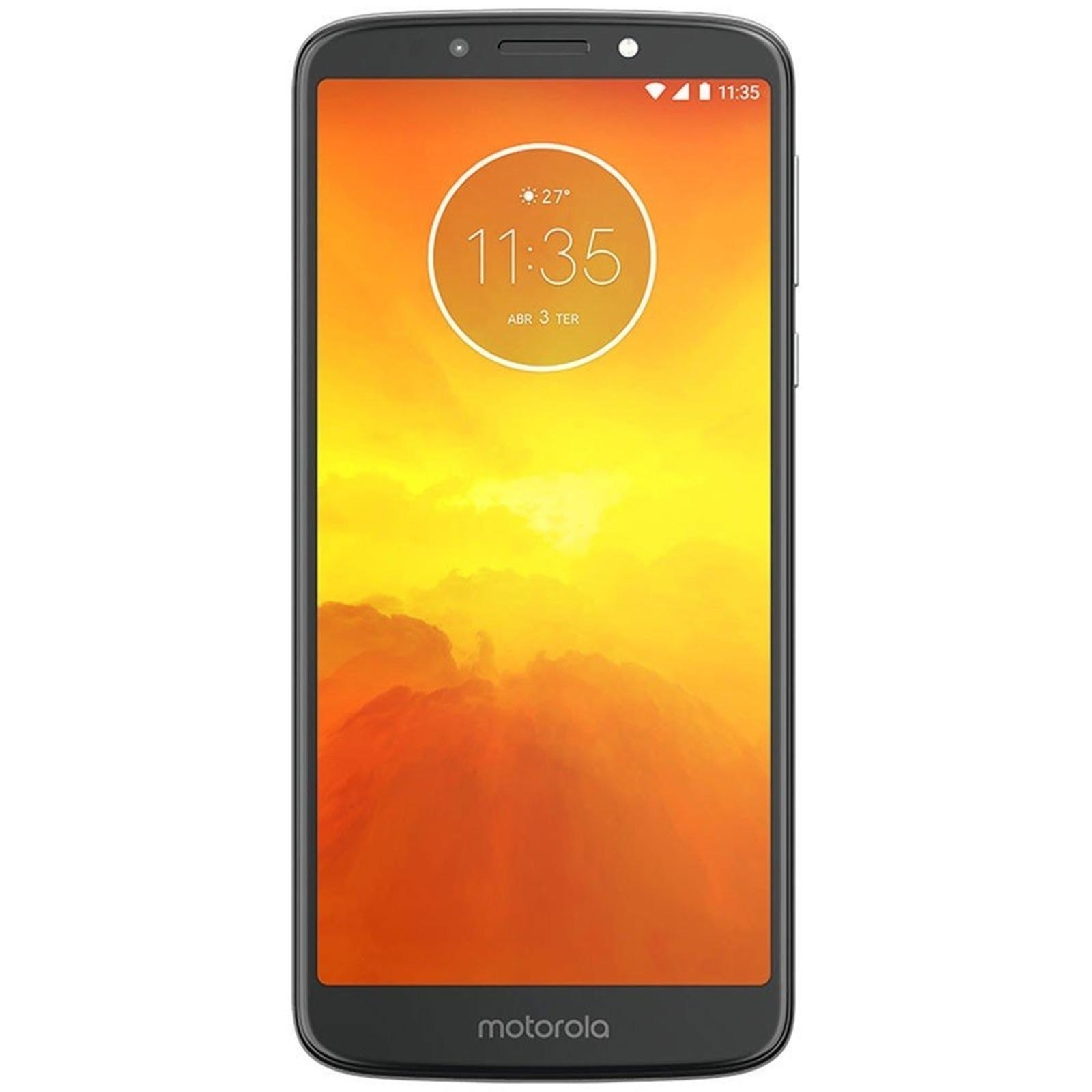 Buy the Motorola Moto E5 Dual SIM Smartphone 16GB - Flash Grey - 4000mAh     ( PACH0008AU XT1944 RETAPAC Grey ) online