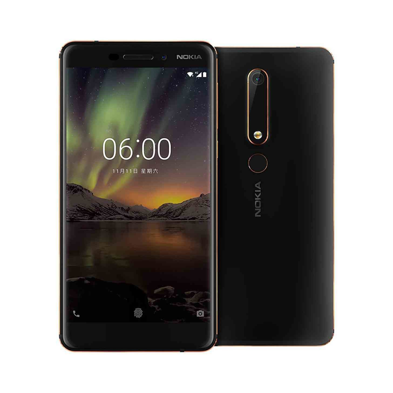 c0dcf656d Nokia 6.1 (2018) 32GB Smartphone - Black - with pure Android One software