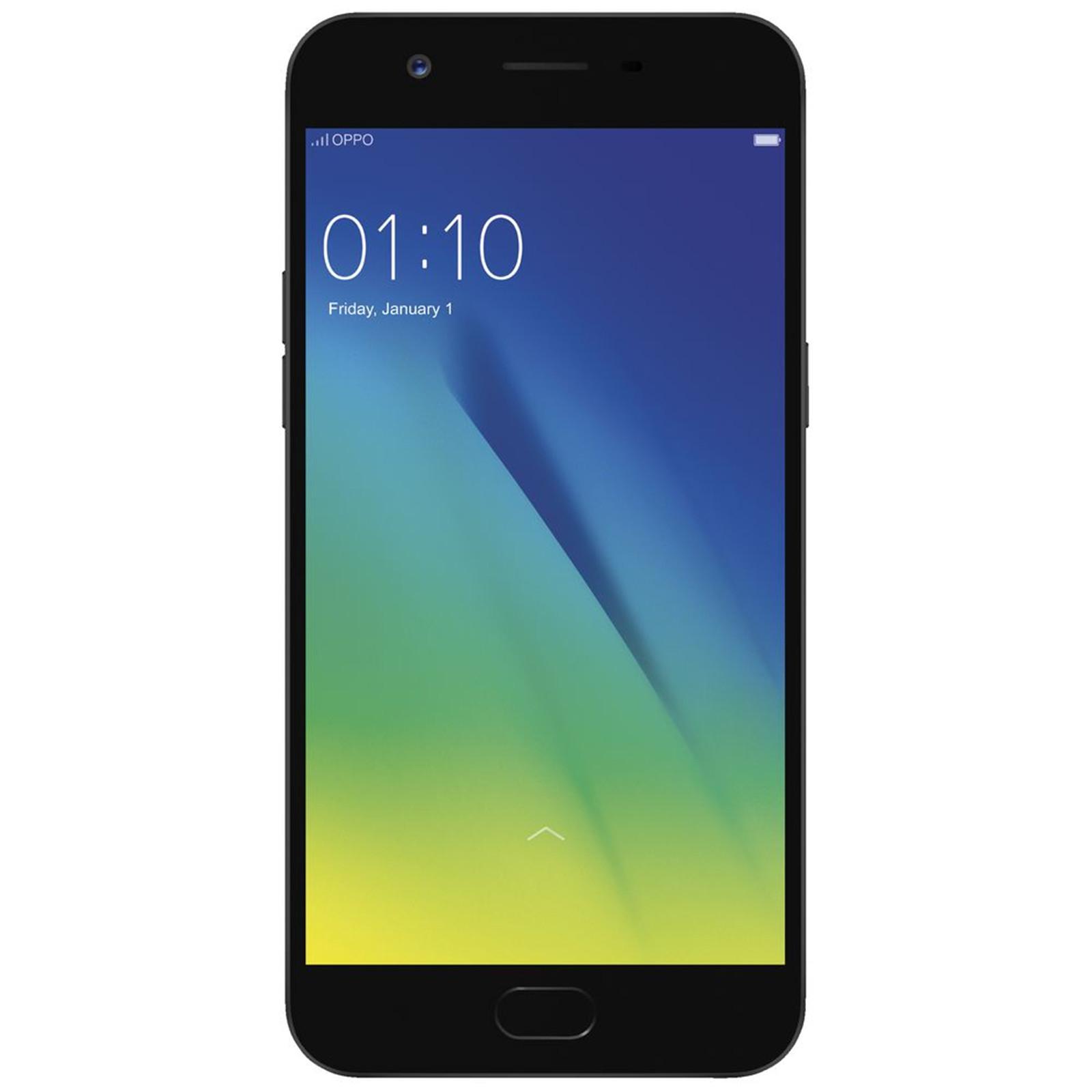 OPPO A57 Dual SIM Smartphone 32GB Black Ex Demo no accessories three months PB Warranty