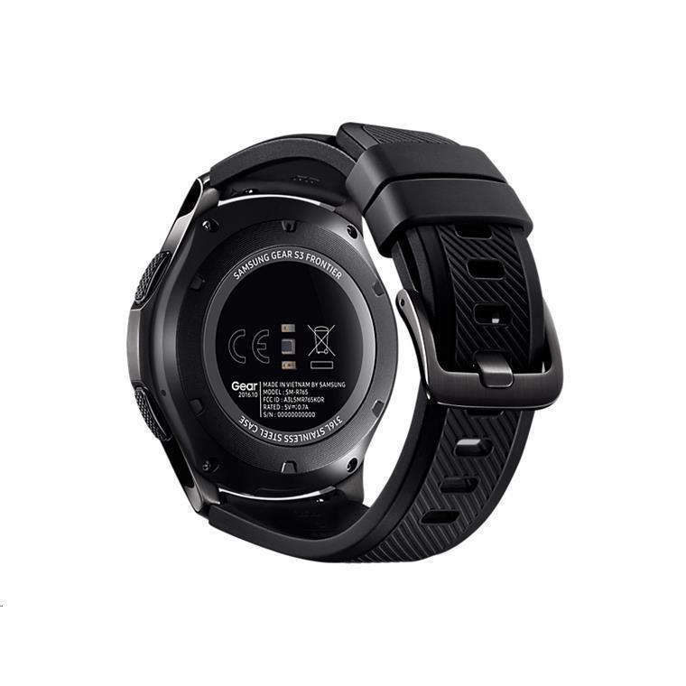Buy The Samsung Gear S3 Frontier Sm R760ndaaxnz Online Pbtech