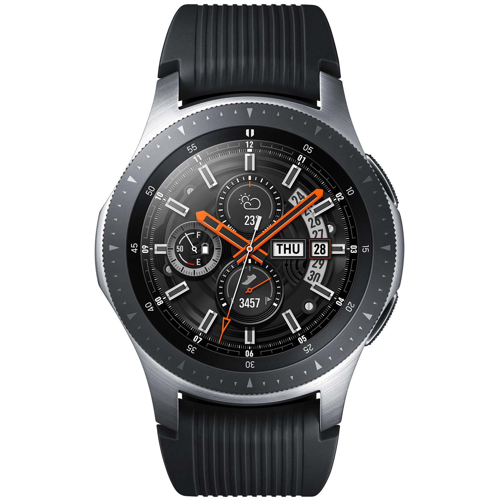 c00e30460e8 Buy the Samsung Galaxy Watch (46mm) - Silver