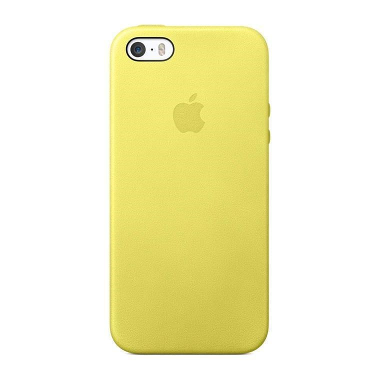 pretty nice 29f3f c4a74 Buy the Apple iPhone SE/5s/5 Case Yellow ( MF043FE/A ) online ...