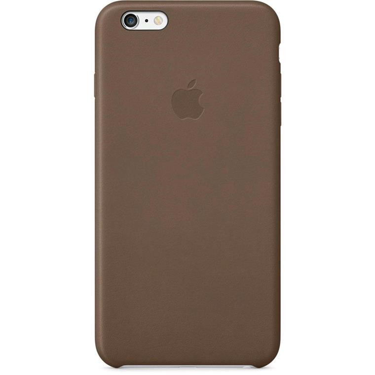 various colors 04f5c 673a7 Buy the Apple iPhone 6s Plus/6 Plus Leather Case - Olive Brown ( MGQR2FE/A  ) online