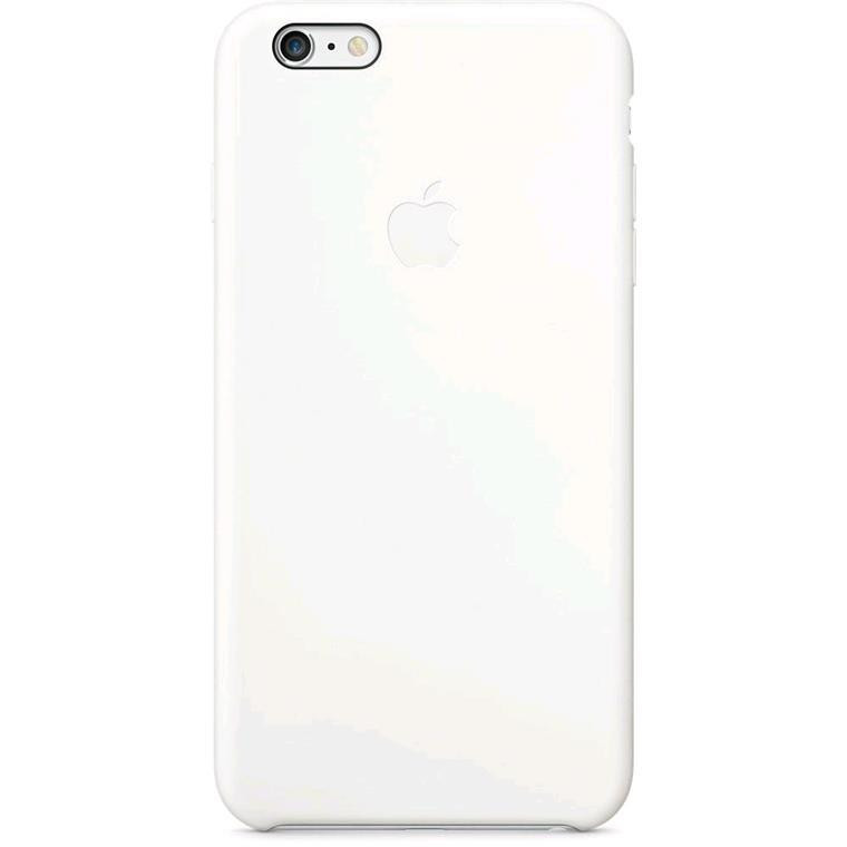 6fb9048a15800 Buy the Apple iPhone 6s Plus  6 Plus Silicone Case White ( MGRF2FE A ...