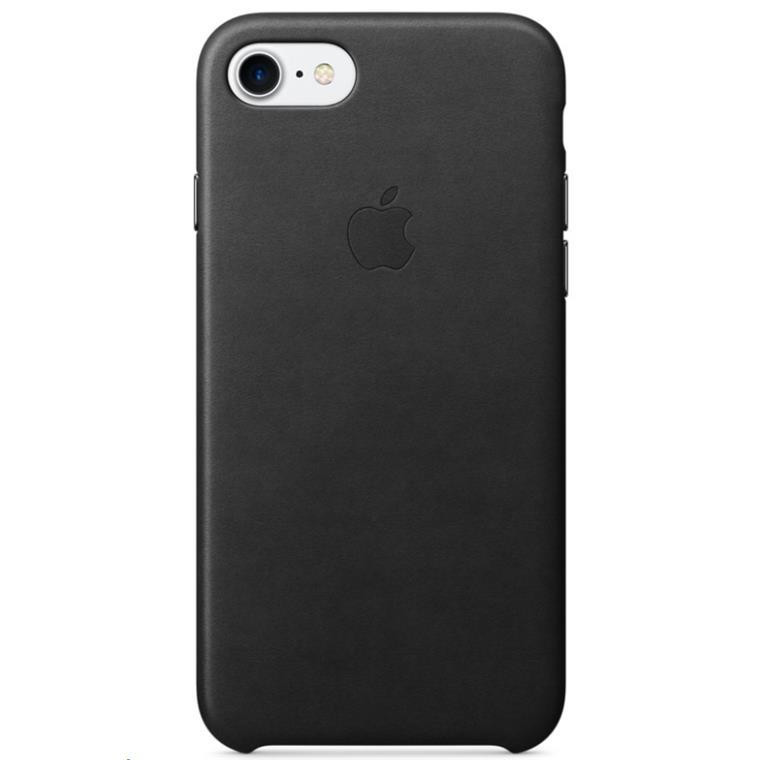 best website a5bc3 608f1 Buy the Apple iPhone 8/7 Leather Case - Black ( MMY52FE/A ) online ...