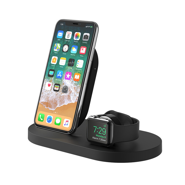 info for e38a8 0dbe2 Buy the Belkin Boostup Wireless Charging Dock, for Apple, iPhone + Apple  Watch... ( F8J235auBLK ) online