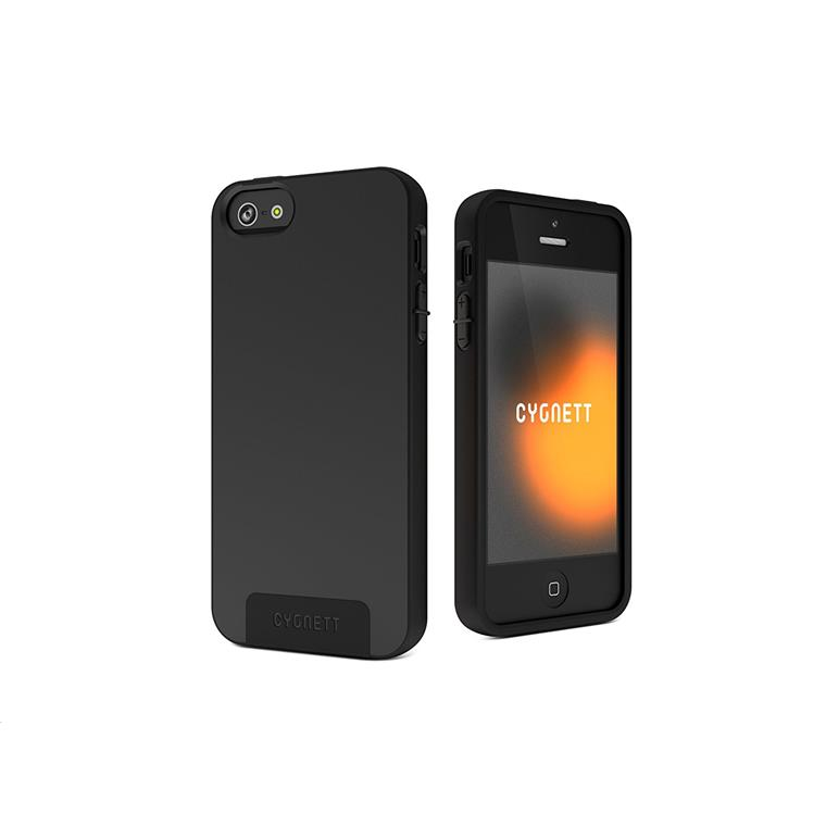 Buy the Cygnett iPhone 5 Second Skin Silicon Case - Black