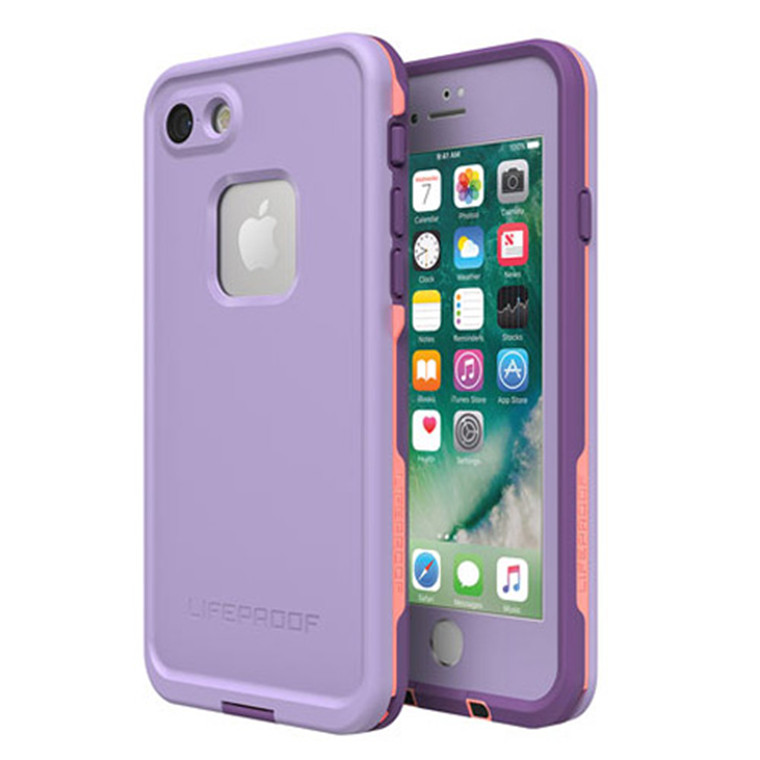 quality design 6c5f8 2fe40 Buy the Lifeproof Fre - iPhone 7/8 - Purple Rose Coral ( 77-56791 ) online