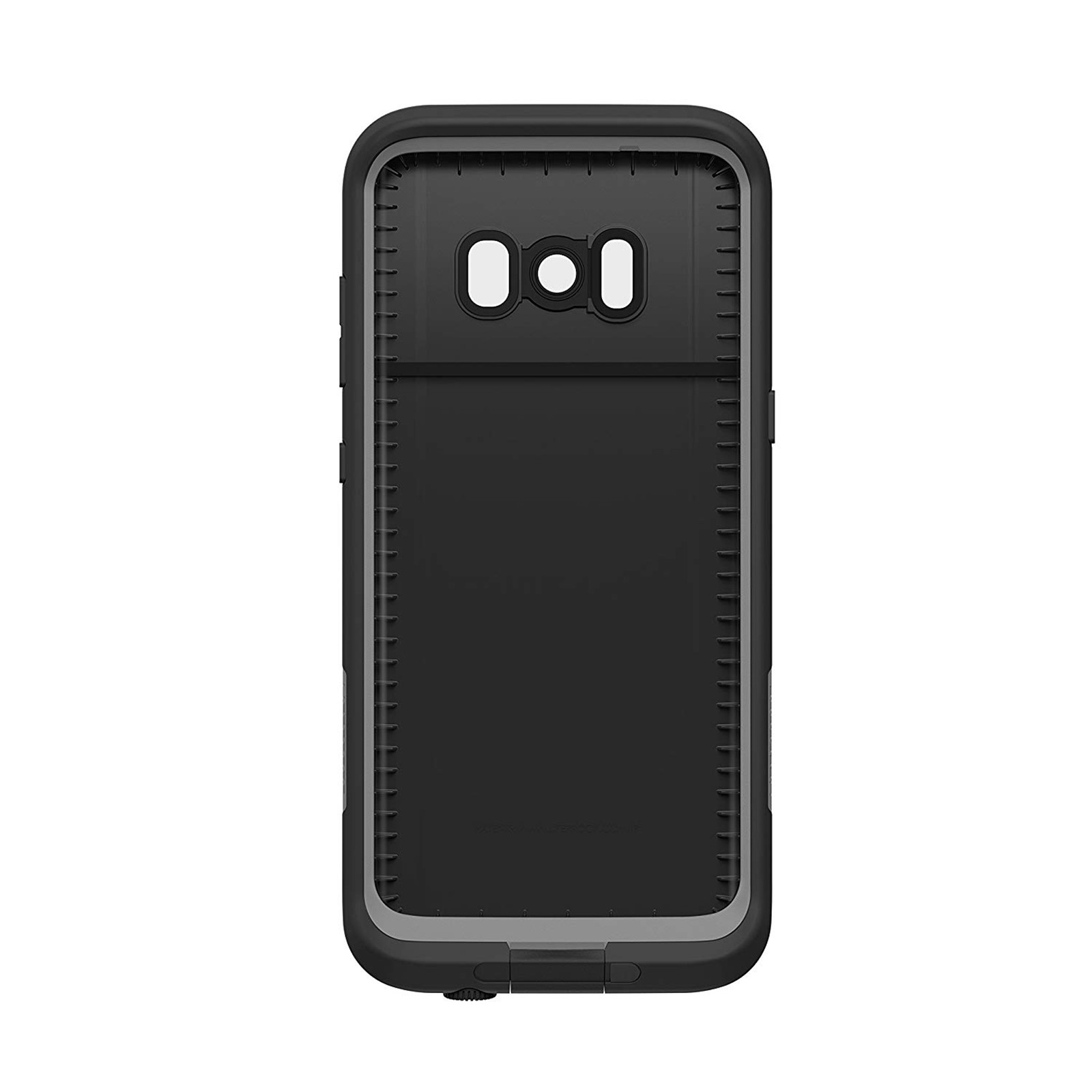 new concept 776d8 59aa2 Buy the Lifeproof Fre Case for Galaxy S8+ - Asphalt Black, Waterproof,... (  77-54833 ) online