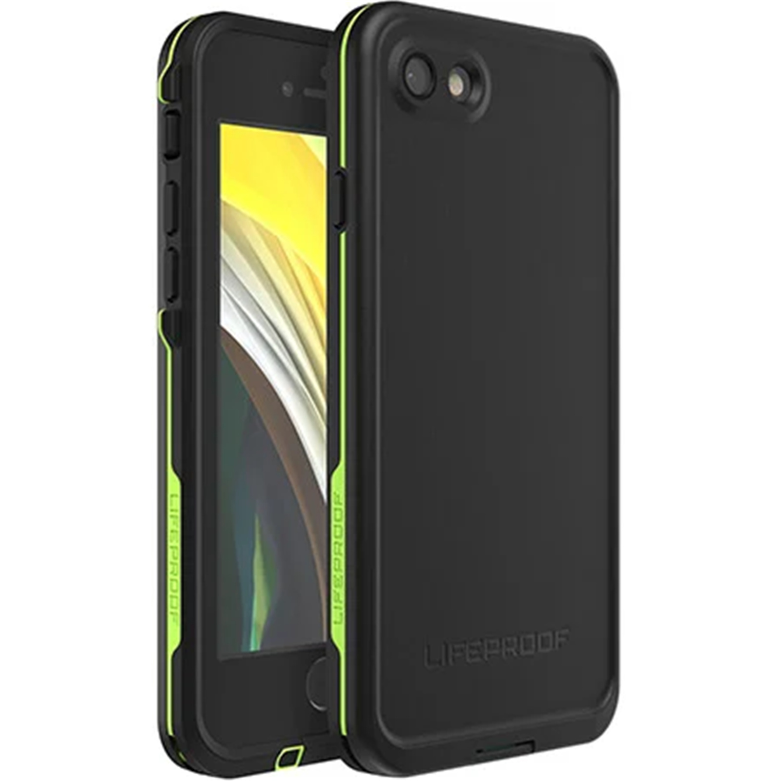 official photos f4456 0ba82 Buy the Lifeproof iPhone 8/7 Fre Case Black Lime. WATERPROOF,DIRTPROOF... (  77-56788 ) online