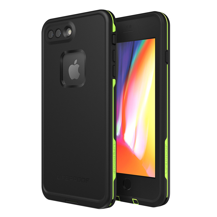 new style bf782 87cac Buy the Lifeproof iPhone 8 Plus/ 7 Plus Fre Case Black Lime, WATERPROOF...  ( 77-56981 ) online