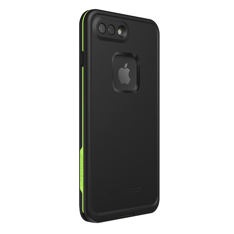 new style 060cc 8db27 Buy the Lifeproof iPhone 8 Plus/ 7 Plus Fre Case Black Lime, WATERPROOF...  ( 77-56981 ) online