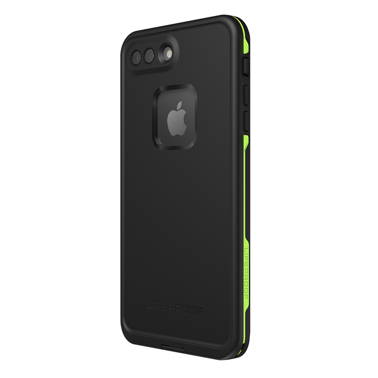 new style b4ac1 7a10f Buy the Lifeproof iPhone 8 Plus/ 7 Plus Fre Case Black Lime, WATERPROOF...  ( 77-56981 ) online