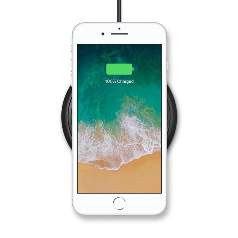 brand new f0ca8 386a1 Buy the Mophie 7.5W Wireless Charging Base Black, MFI Certified, Up to 7.5W  Qi... ( 4120_WRLS-CHGPAD-AC-BLK-AU ) online