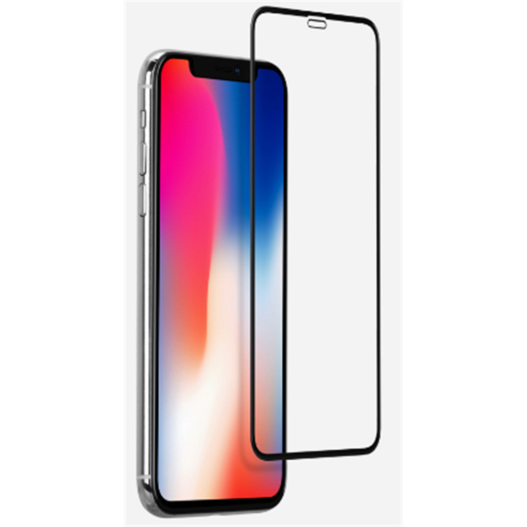 """Momax Apple iPhone XR (6.1"""") Premium Tempered Screen Protector,3D Full Cover, 9H Hardness HD Super-Clearness, Oleophobic Coating and Anti-Shatter,"""