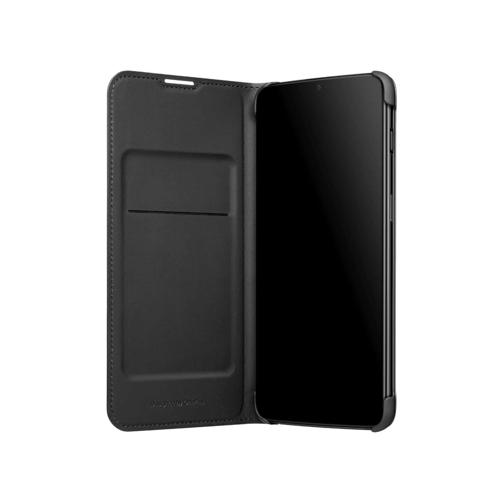new arrival e29d2 40460 Buy the OnePlus 6T Flip Wallet Cover , Black, Built in Card Slot ...