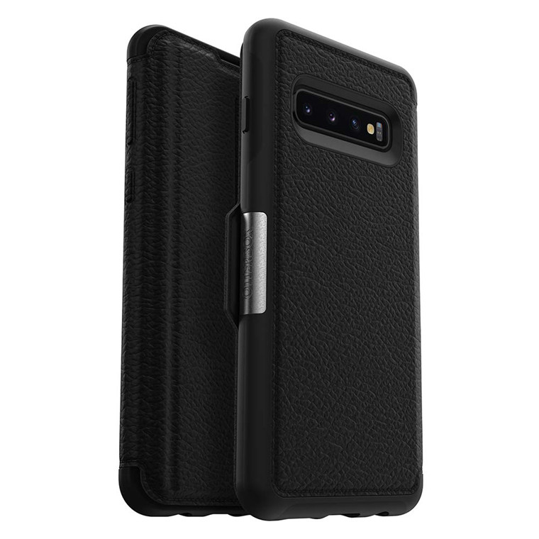 check out 8f06b 1cfde Buy the OtterBox Galaxy S10 Strada Series Case - Shadow, Slim and Sleek  and... ( 77-61354 ) online