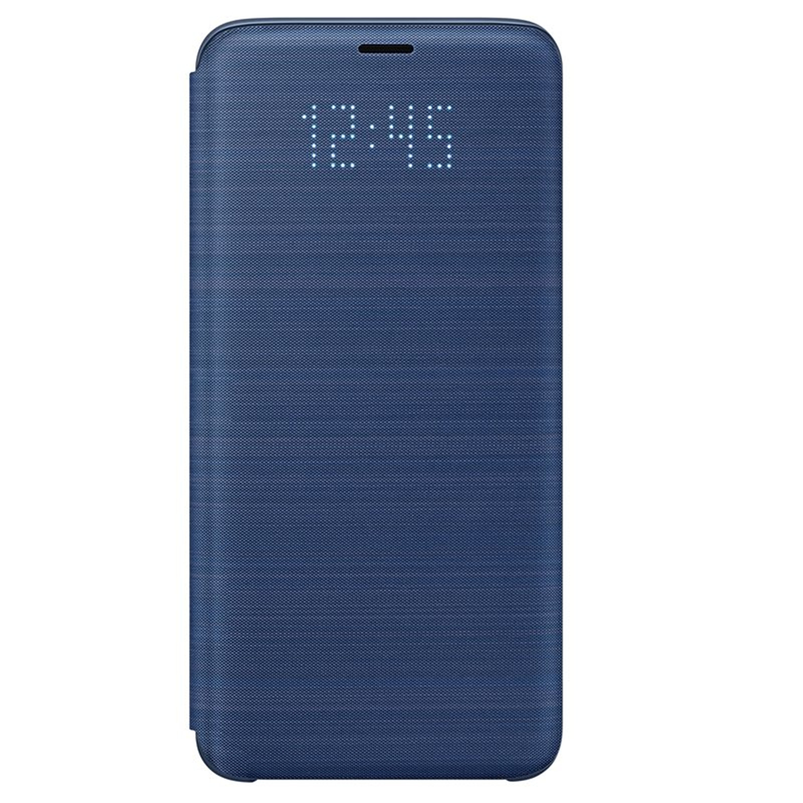 reputable site a718f 39eb9 Buy the Samsung Galaxy S9 LED View Flip Cover- Blue,Light Alerts,LED ...
