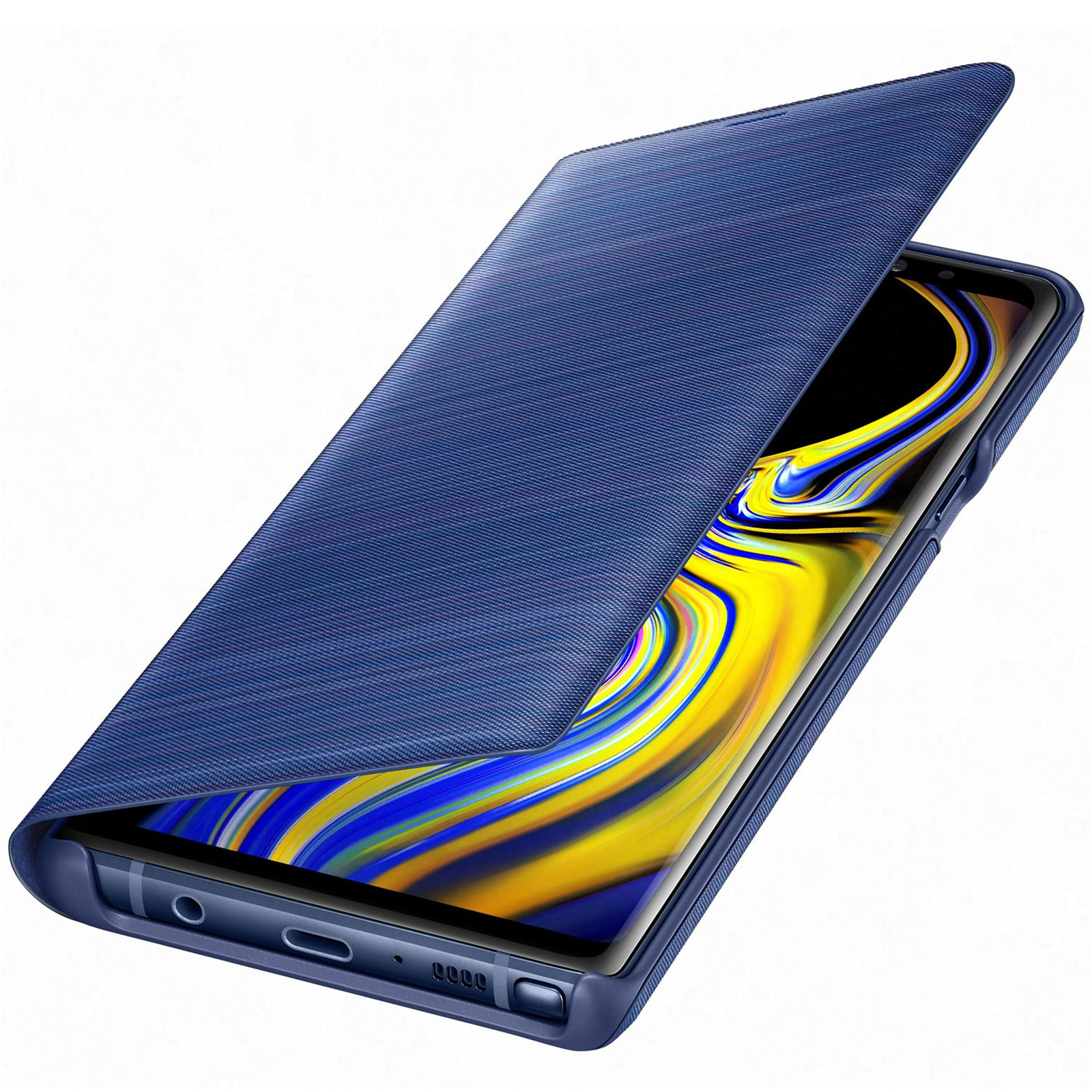 buy online c8754 e8a2b Buy the Samsung Galaxy Note 9 LED View Flip Cover- Blue,Light Alerts,LED...  ( EF-NN960PLEGWW ) online
