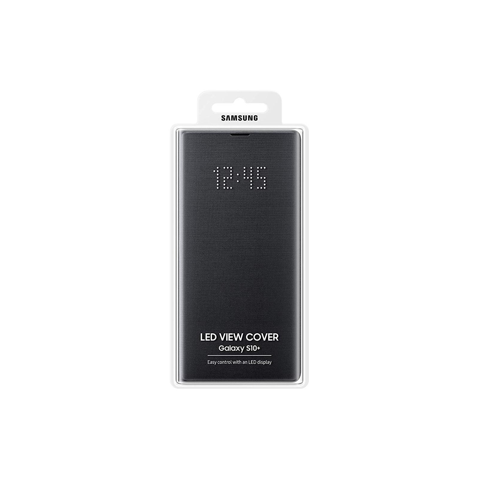 huge discount b1fa9 fe1c8 Buy the Samsung Galaxy S10+ LED View Flip Cover- Black,Light Alerts,LED...  ( EF-NG975PBEGWW ) online