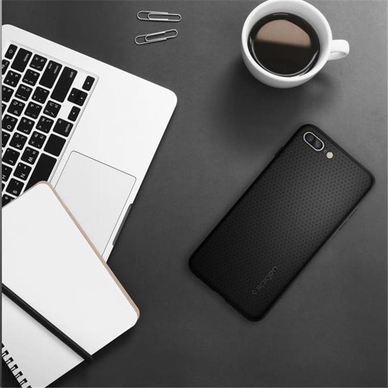 hot sale online 8ccfd b1c8b Buy the Spigen iPhone 8 Plus / 7 Plus Liquid Armor Case Black,Thin and... (  043CS20525 ) online