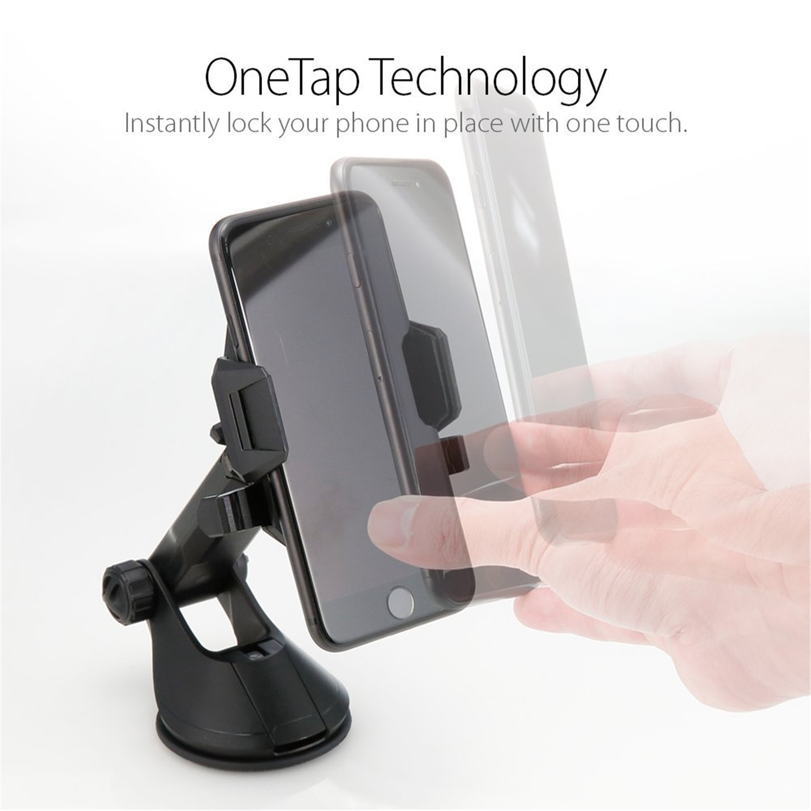 Spigen Ap12t Car Mount Holder 000cg20917 Daftar Harga Terkini Cradle Universal Kuel Turbulence S40 2 Iridium Silver Windscreen Dashboard Premium Phone Black One Tap Mounting