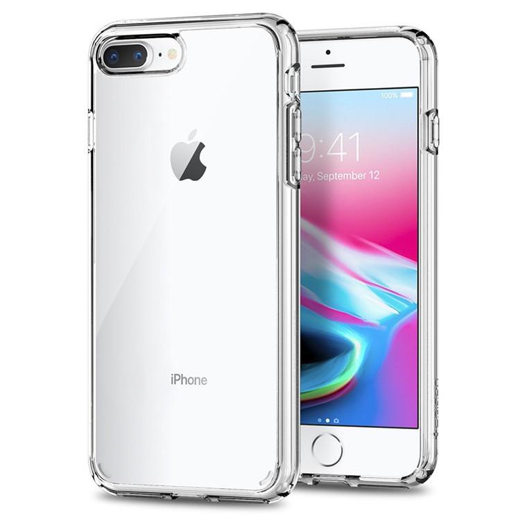 Buy the Spigen iPhone 8 Plus /7 Plus Ultra Hybrid 2 Case Crystal Clear, DROP... ( 043CS21052 ) online - PBTech.co.nz