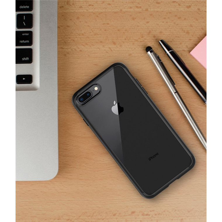 best service b9ad4 4d282 Buy the Spigen iPhone 8 Plus /7 Plus Ultra Hybrid 2 Case Black,  DROP-TESTED... ( 043CS21137 ) online