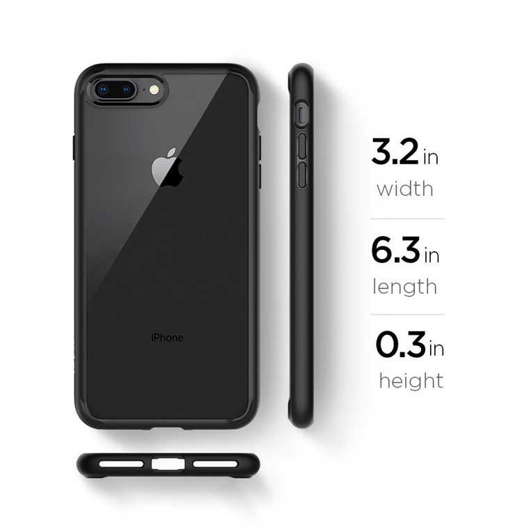 black spigen iphone 8 case