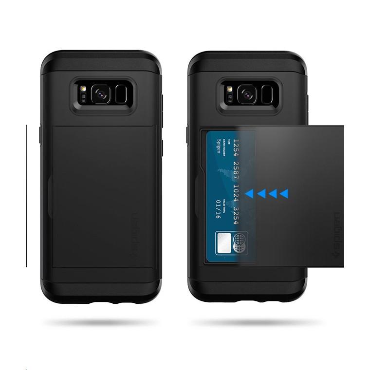 quality design 823a8 b8733 Buy the Spigen Galaxy S8 Slim Armor CS Case Black,Slim,Dual Layer,  Wallet... ( 565CS21620 ) online