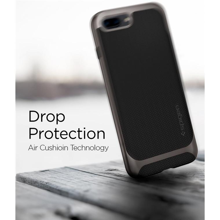 sale retailer 44152 8f179 Buy the Spigen iPhone 8 Plus / 7 Plus Neo Hybrid Herringbone Case ...