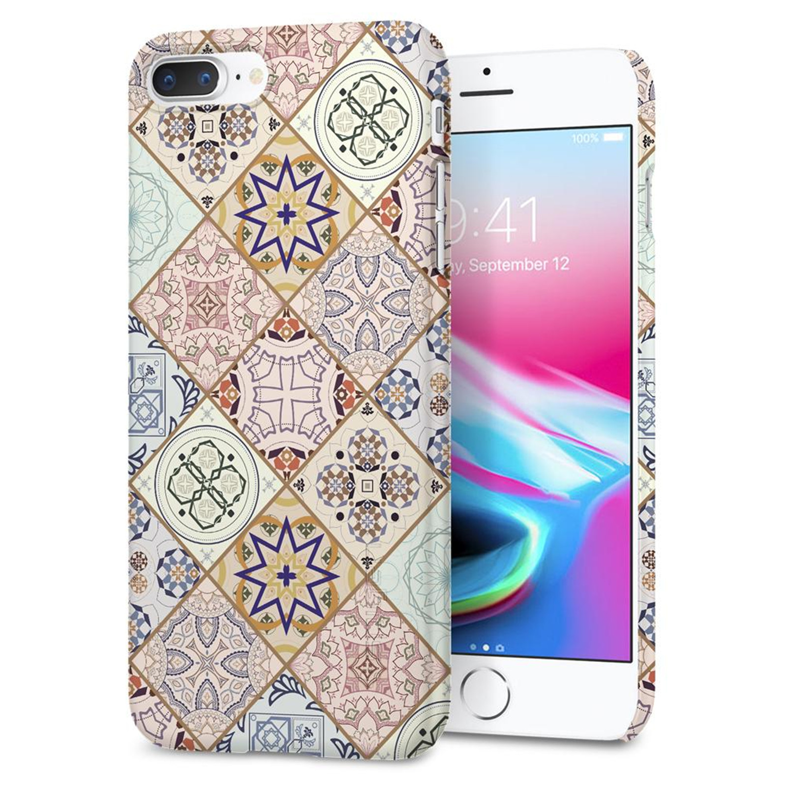 Buy The Spigen Iphone 8 Plus Thin Fit Design Edition Case Arabesque Xs Simple Softcase Liquid Crystal Casing Exact Fitlight Weight Only 004lbsuper Pocket Friendly Hard 055cs22622