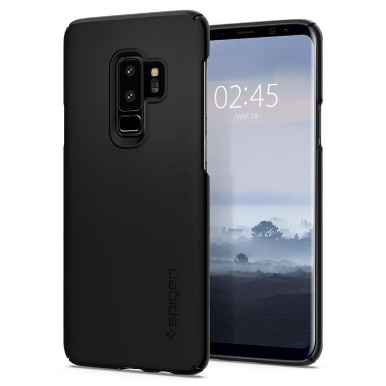 quality design 3df4d f64cc Buy the Spigen Galaxy S9+ Thin Fit Case Black , Extreme  Lightweight,Premium... ( 593CS22908 ) online
