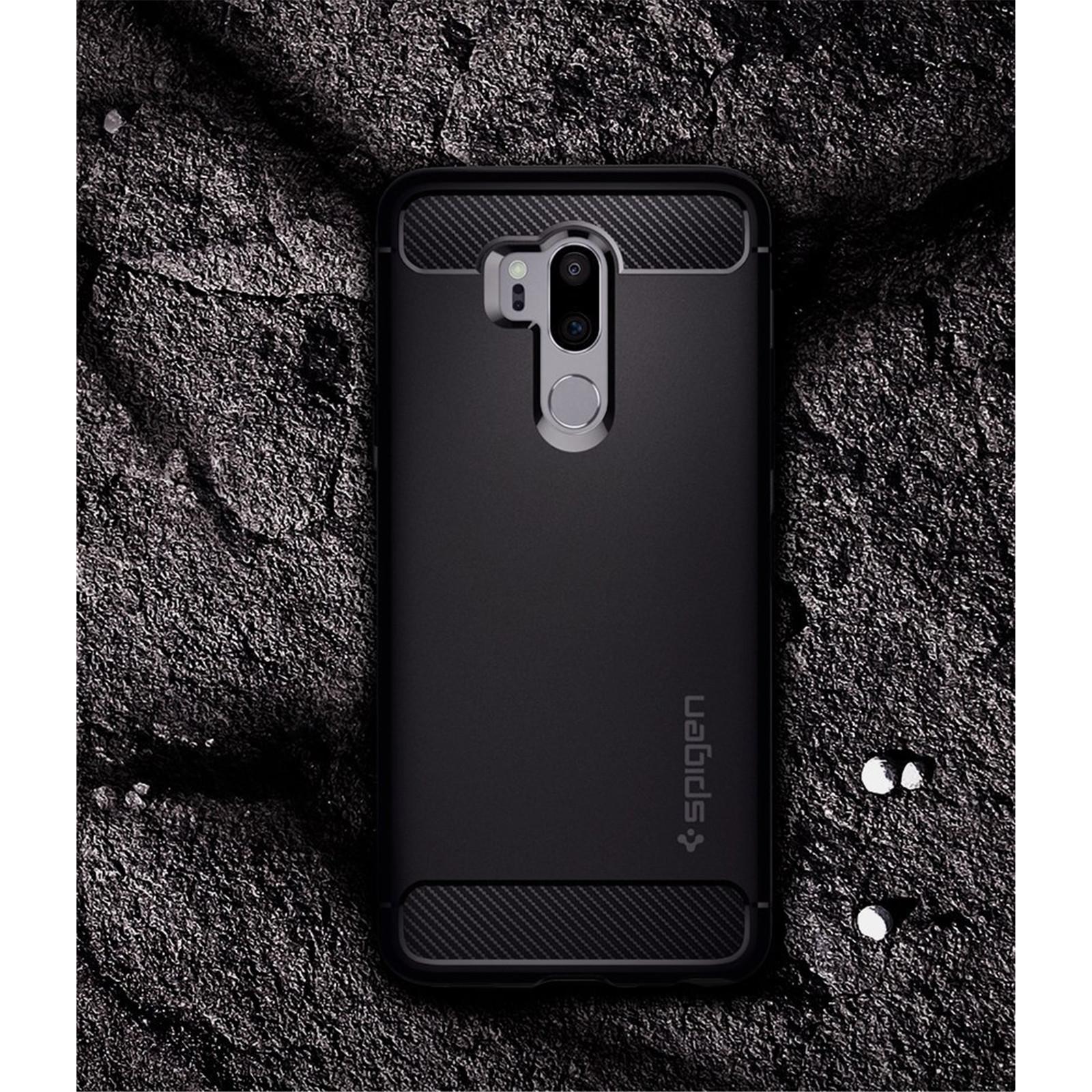 best service c4a17 28ae7 Buy the Spigen LG G7 ThinQ Rugged Armor Case ,Black,Durable Mechanical  Design,... ( A27CS23033 ) online