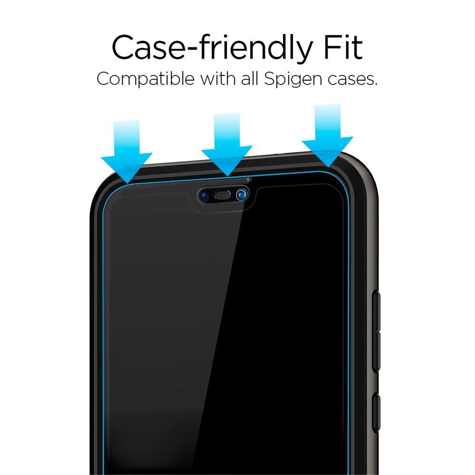 Buy the Spigen Huawei Nova 3e/ P20 Lite Full Coverage PremiumTempered  Glass    ( L22GL23069 ) online