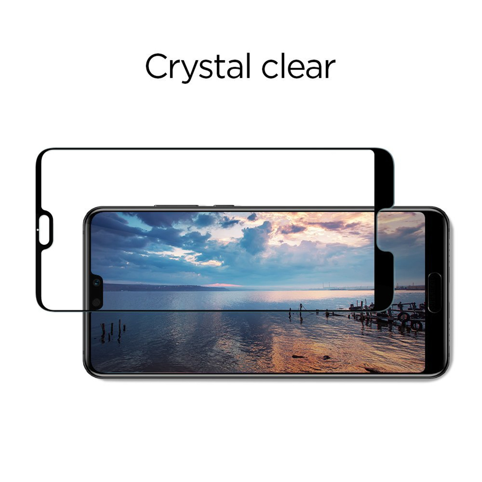 cheap for discount e4c5f 1b807 Buy the Spigen Huawei P20 Pro Full Coverage PremiumTempered Glass Screen...  ( L23GL23082 ) online