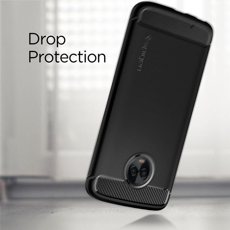 Buy the Spigen Motorola Moto G6 Rugged Armor Case,Black