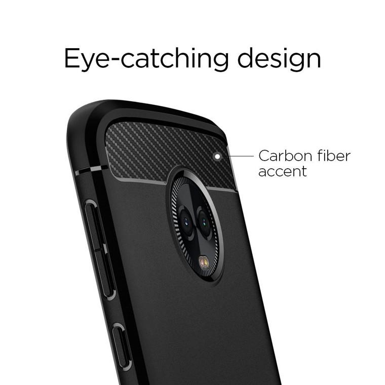 reputable site 8fa78 e68d8 Buy the Spigen Motorola Moto G6 Plus,Rugged Armor Case,Black, Ultimate... (  M18CS23352 ) online