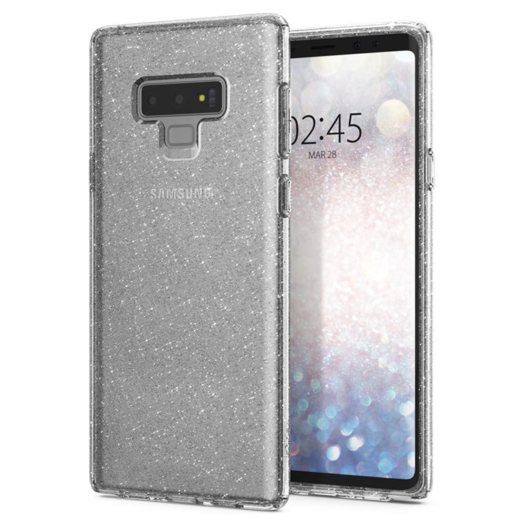 pretty nice 1512d 1d4ee Buy the Spigen Galaxy Note 9 Liquid Crystal Case, Glitter Crystal ...