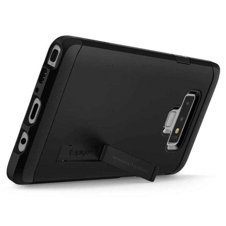 Spigen Galaxy Note 9 Tough Armor Case Black, DROP-TESTED MILITARY GRADE,HEAVY DUTY,Extreme Protection, Air Cushion Technology, Dual Layer Protection, ...