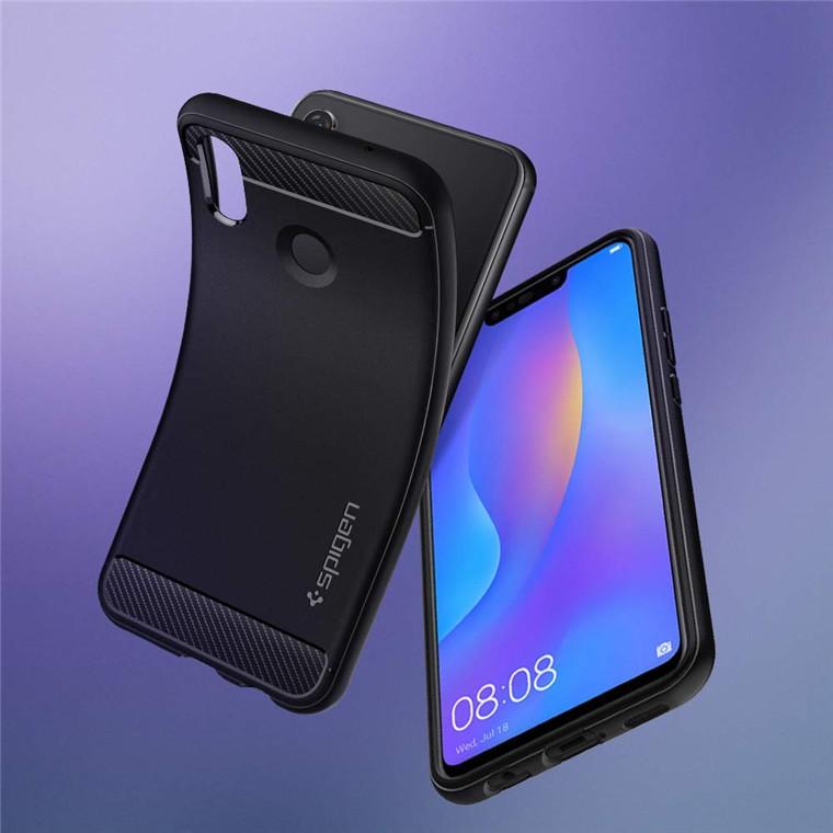 huge selection of 719bd d0188 Buy the Spigen Huawei Nova 3i Rugged Armour Case - Black, Mil-Grade  Protection... ( L32CS24984 ) online