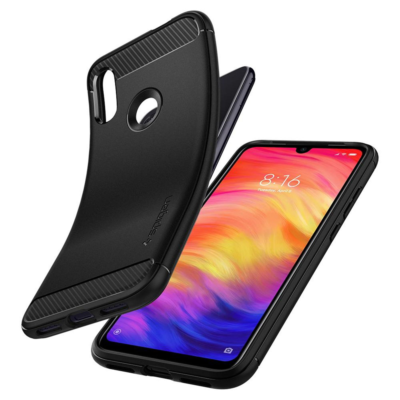Buy the Spigen Xiaomi Redmi Note 7 Rugged Armour Case