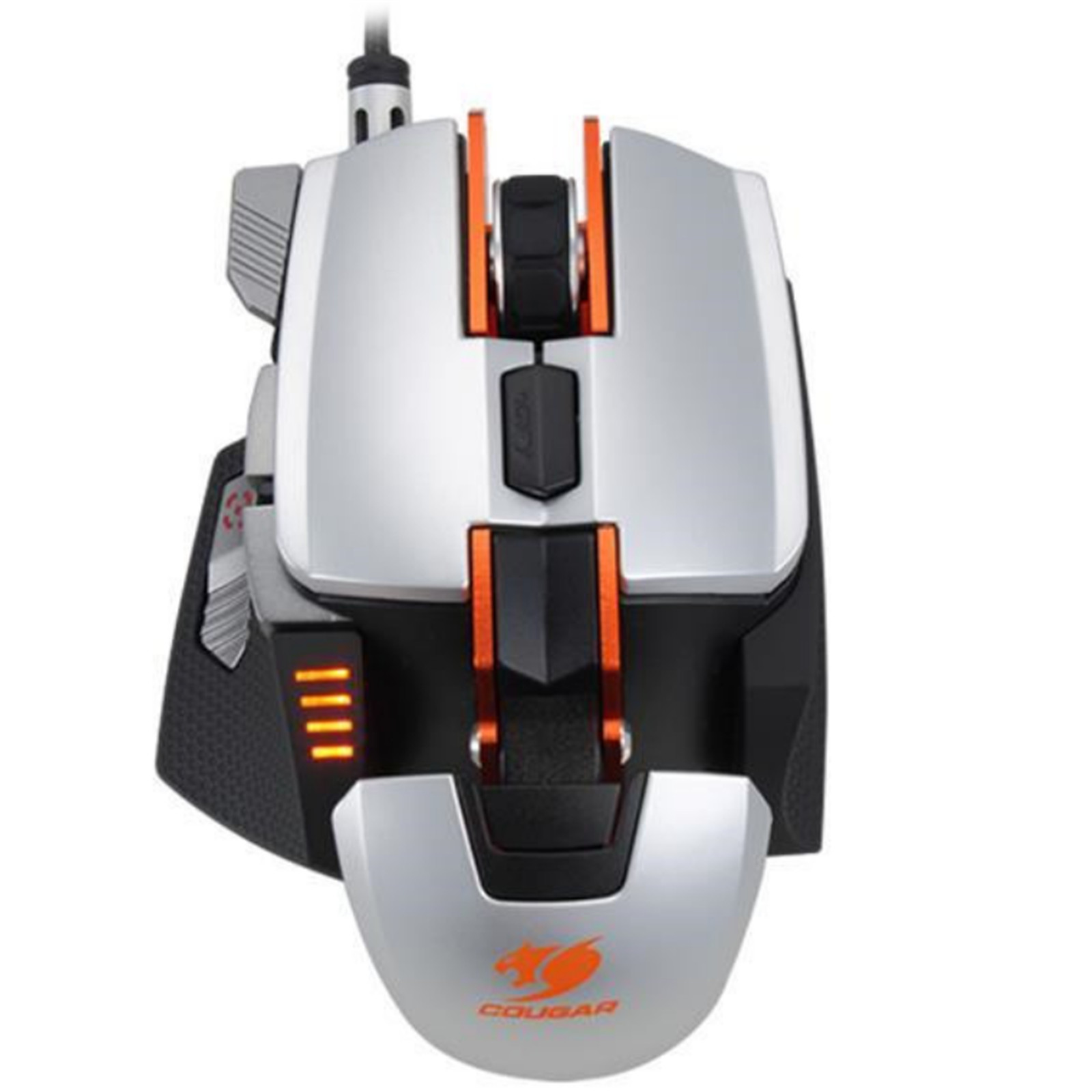 61630b46dce Buy the Cougar 700M Laser Gaming Mouse 8200dpi - Silver ( CGR-WLMS ...